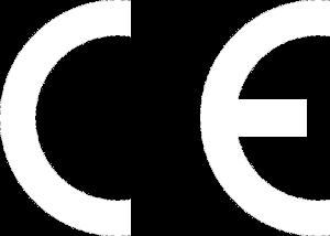 Logo CE white